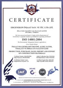 ISO 14001:2004 ( ERGENEKON )